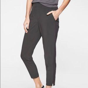 Athleta Brooklyn Ankle Pants grey onyx size 2